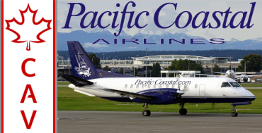 Pacific Coastal Airlines Tour