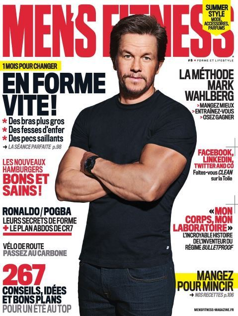 Men's Fitness France 5 - Juillet 2016