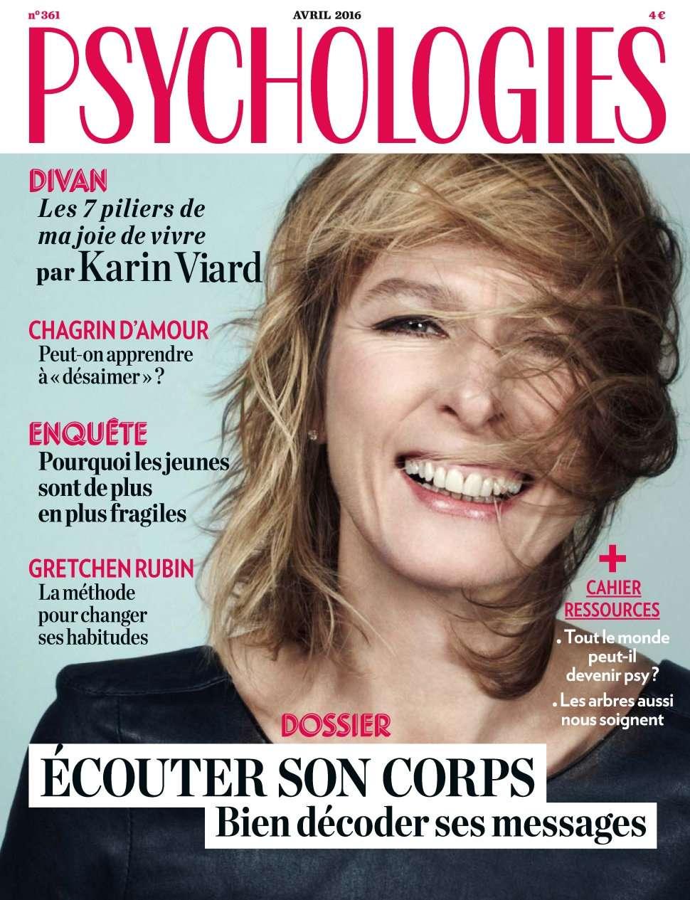 Psychologies Magazine 361 - Avril 2016