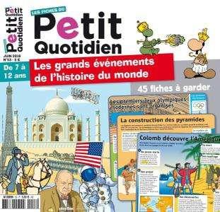 Les Fiches du Petit Quotidien - Juin 2016