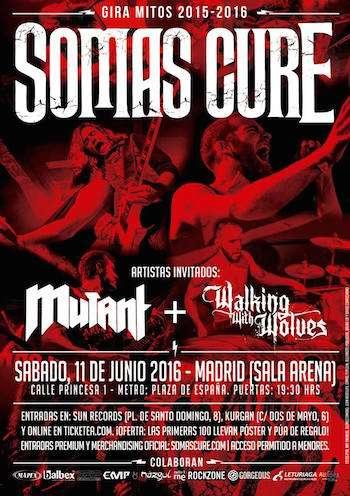 Somas Cure - Madrid cartel