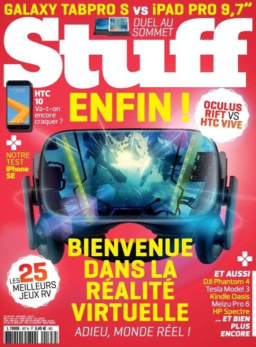 Stuff 167 - Juin 2016