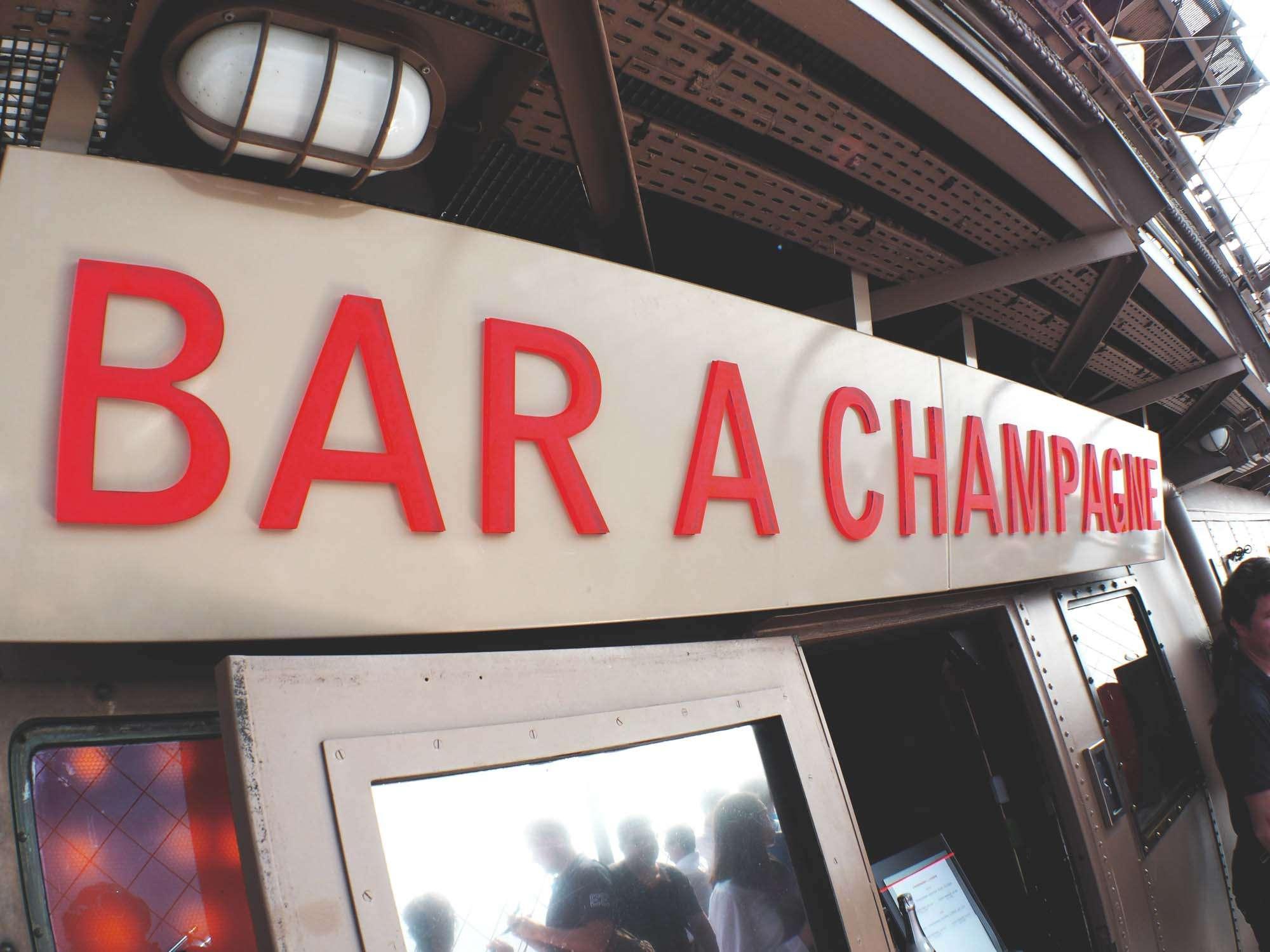 Eiffel Tower Champagne Bar