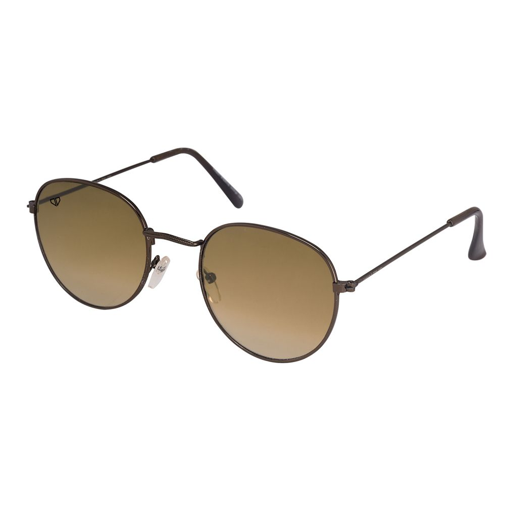Walrus Royal Brown Color Unisex Oval Sunglass - WS-RYL-090909