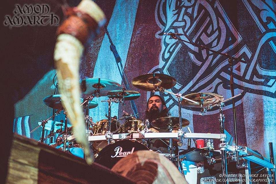 Amon Amarth nuevo batería