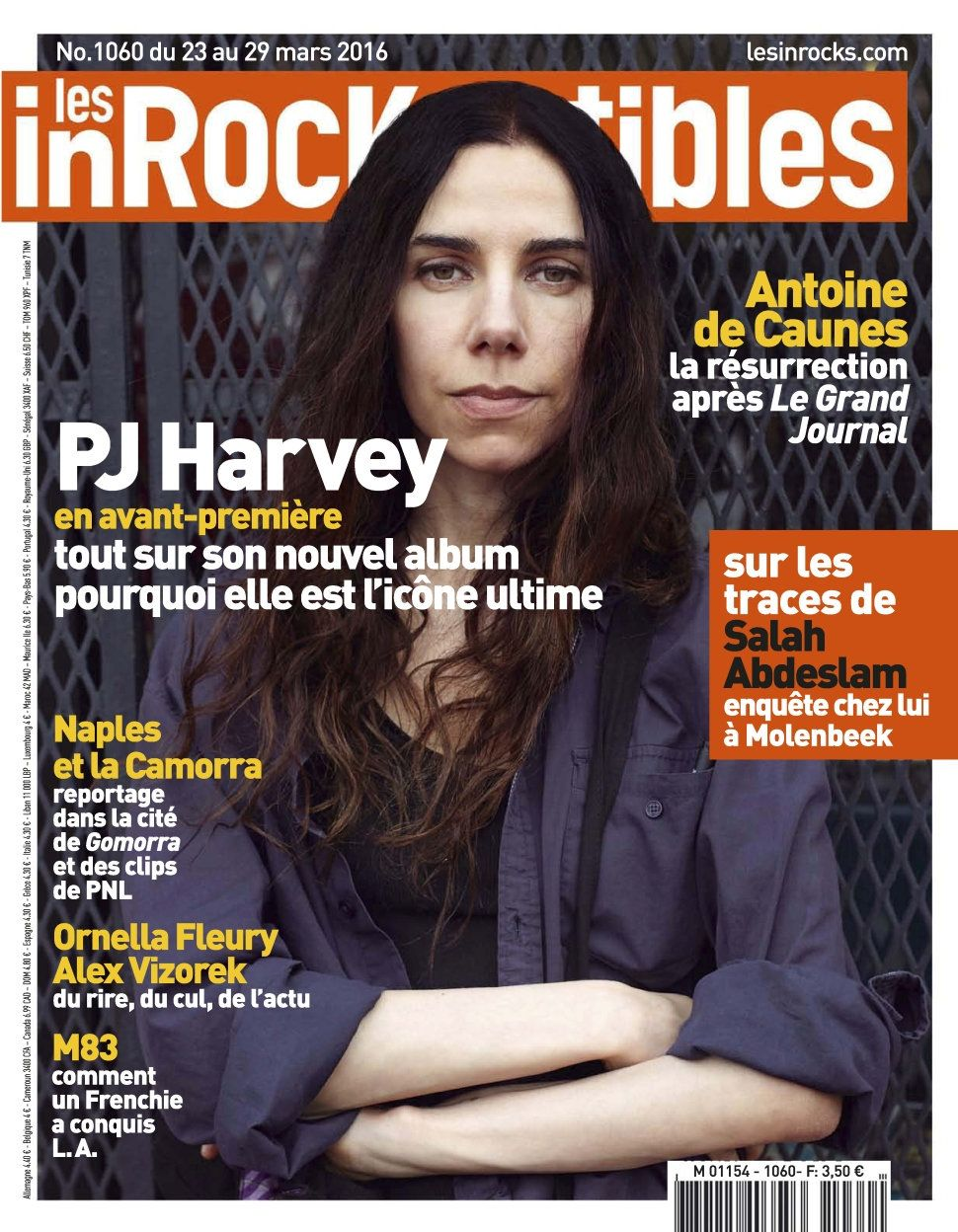 Les Inrockuptibles 1060 - 23 au 29 Mars 2016
