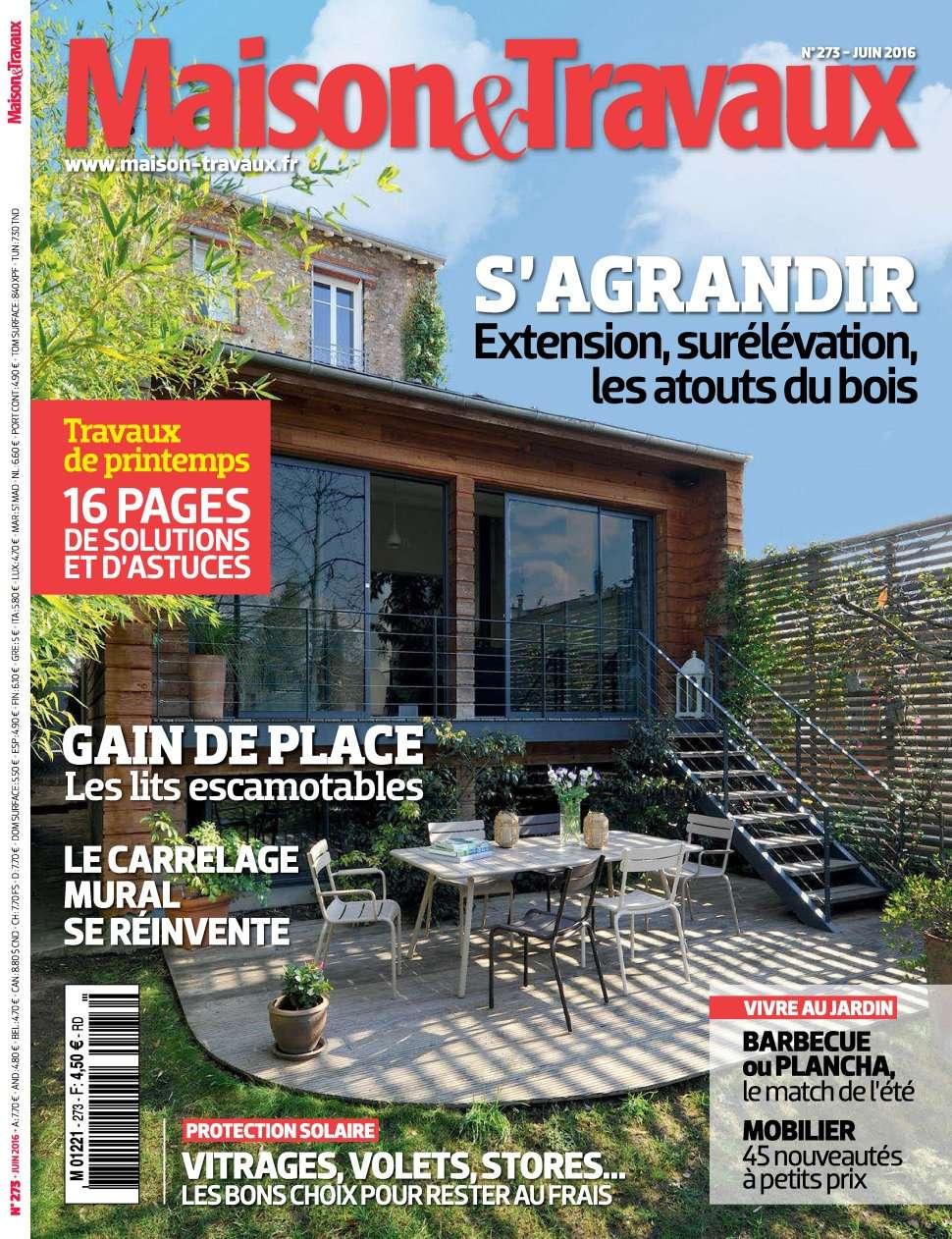 Maison & Travaux 273 - Juin 2016