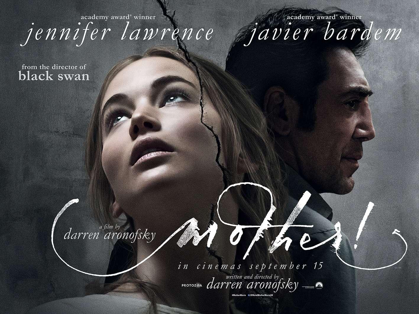 Μητέρα! (Mother!) Quad Poster