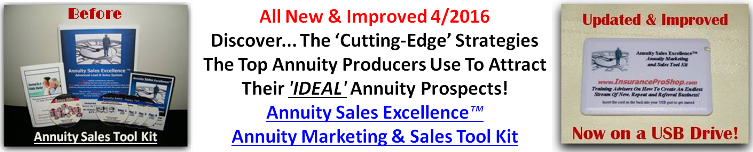 Annuity Sales Excellence Tool Kit