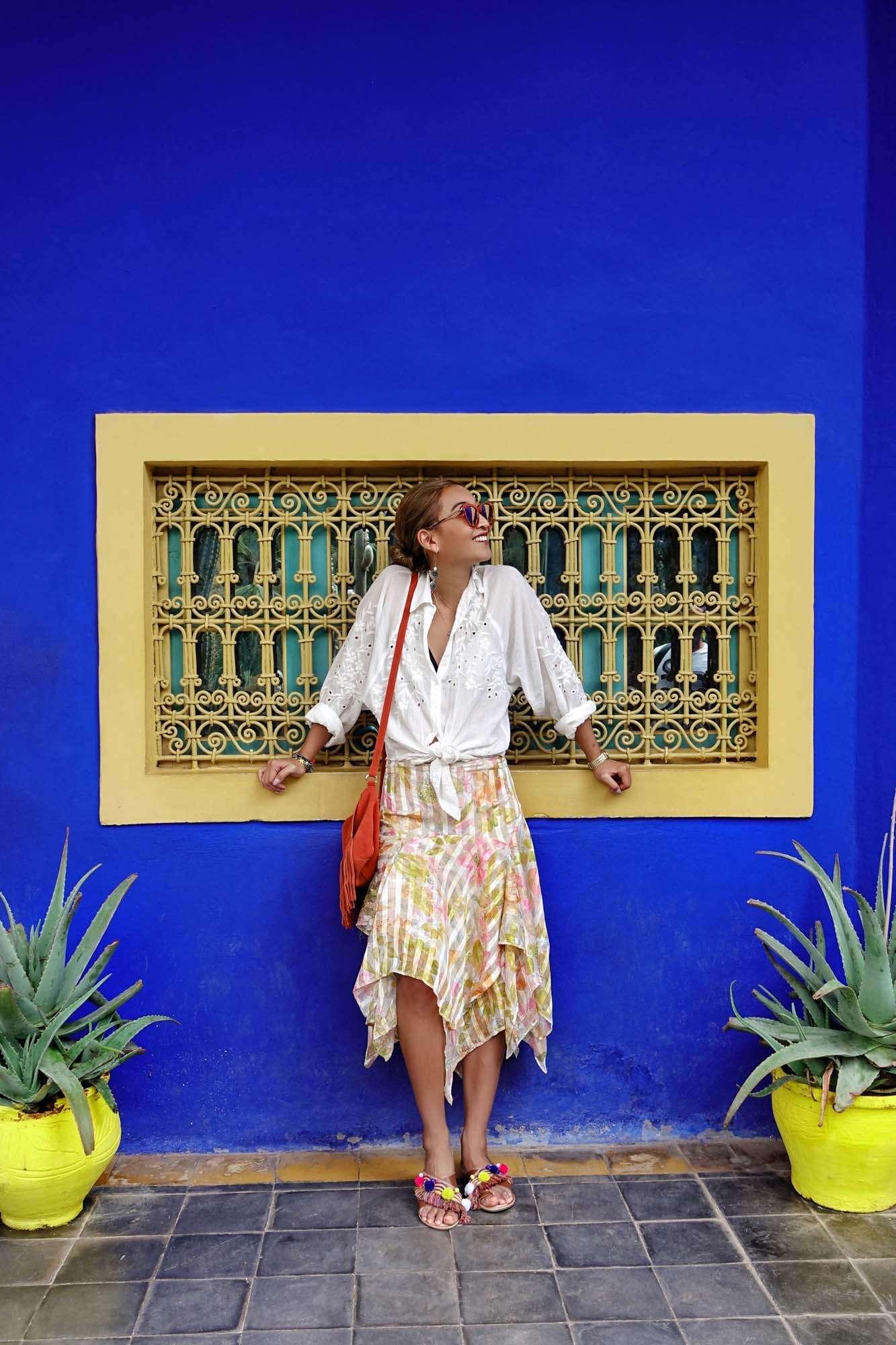 Colours of Marrakech Jardin Marjorelle