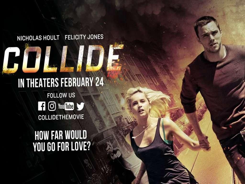 Χωρίς Διέξοδο (Collide) Quad Poster Πόστερ