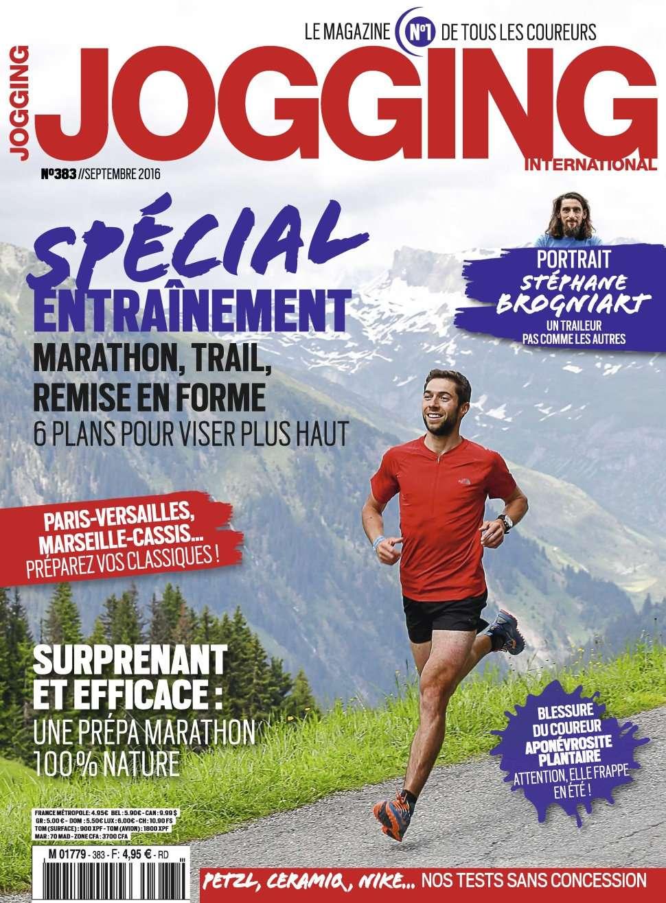 Jogging International 383 - Septembre 2016