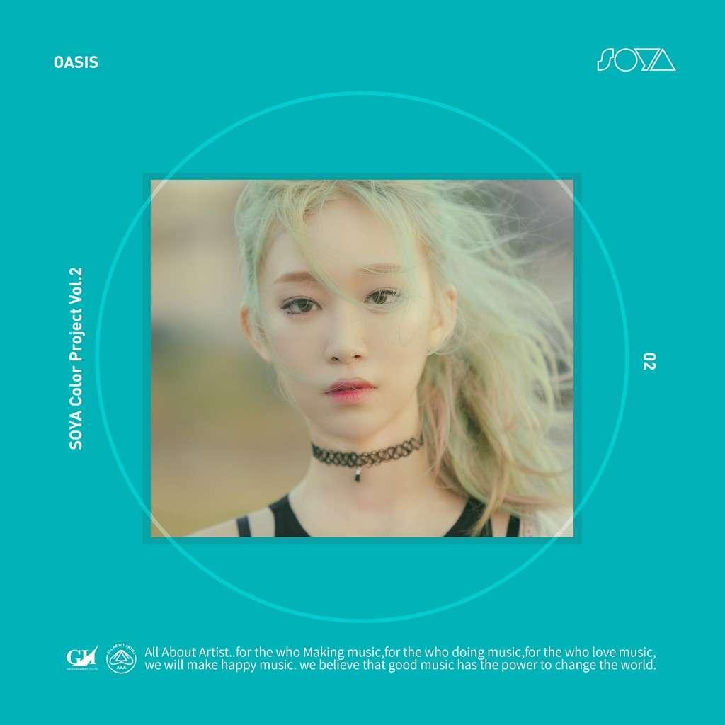 [Single] SOYA – SOYA Color Project Vol.2 `OASIS` (MP3)