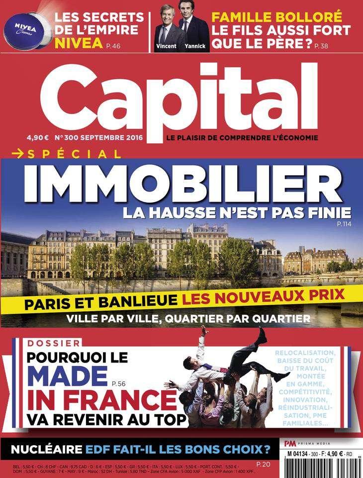 Capital France - Septembre 2016