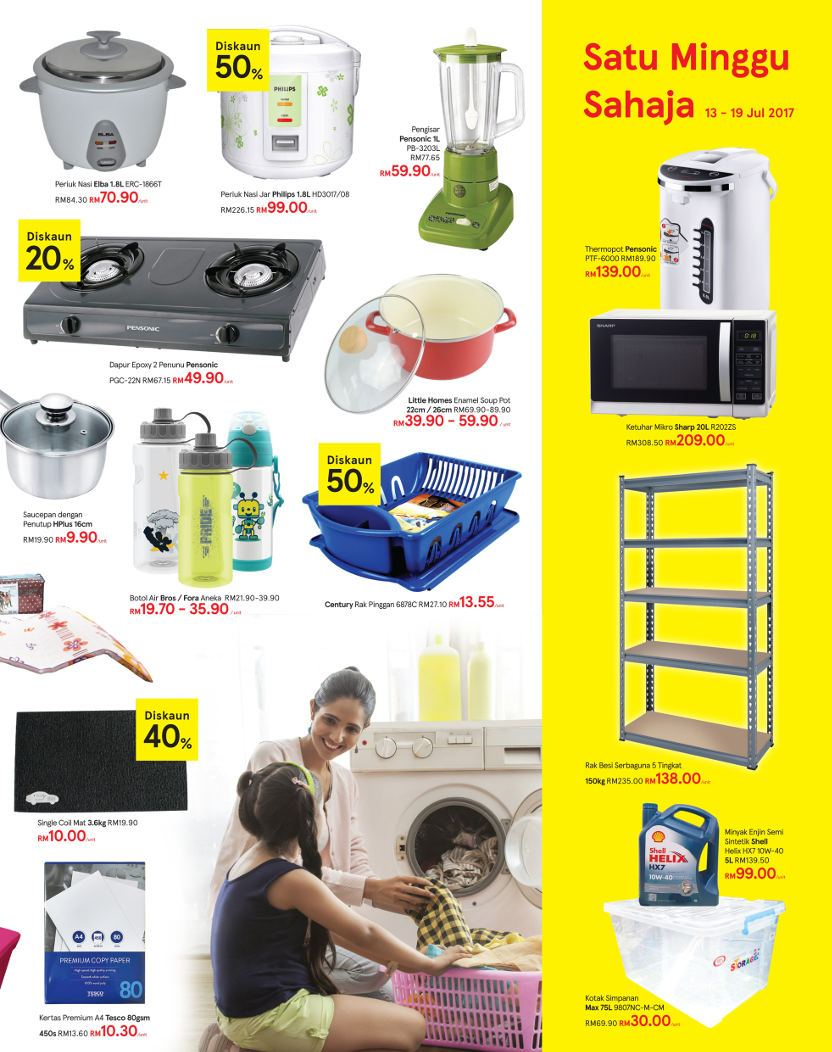 Tesco Malaysia Weekly Catalogue (13 July 2017 - 19 July 2017)