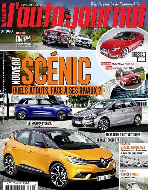 L'Auto-Journal 960 - 9 au 15 Juin 2016