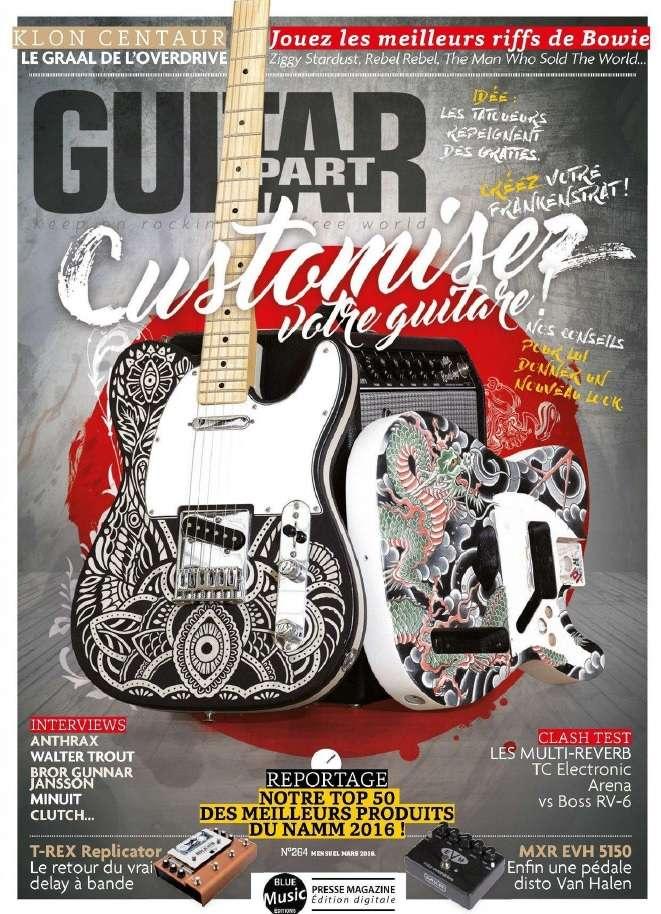 Guitar Part 264- Mars 2016