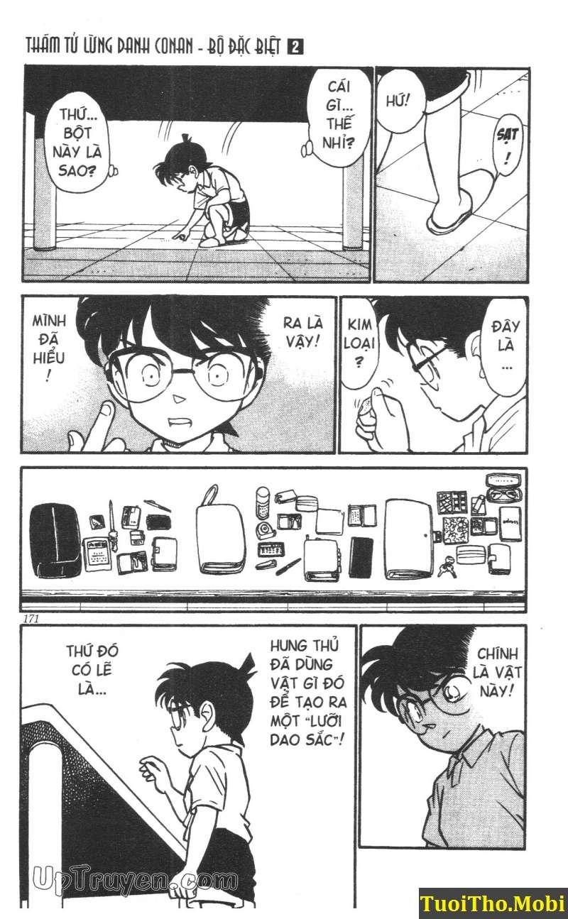 đọc truyện Conan bộ đặc biệt chap 17 trang 16