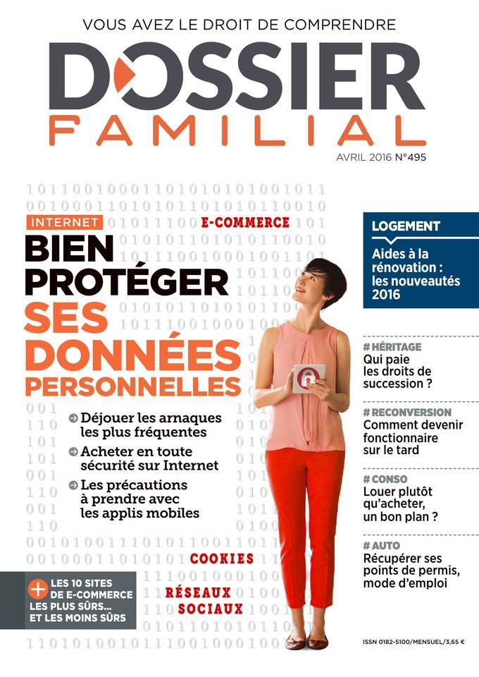 Dossier Familial - Avril 2016