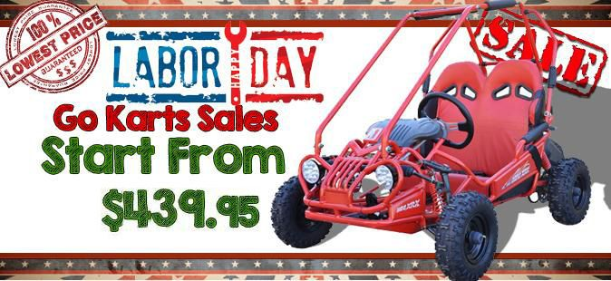 Go Kart Labor Day Sale - Power Ride Outlet