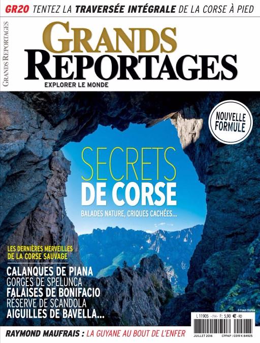 Grands Reportages 421 - Juillet 2016