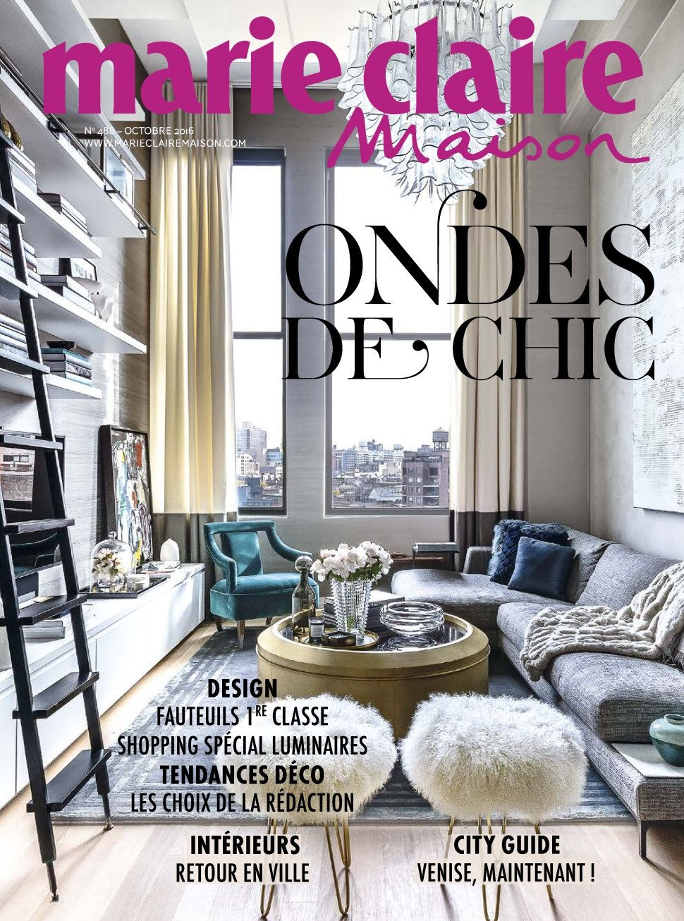 Marie Claire Maison 488 - Octobre 2016