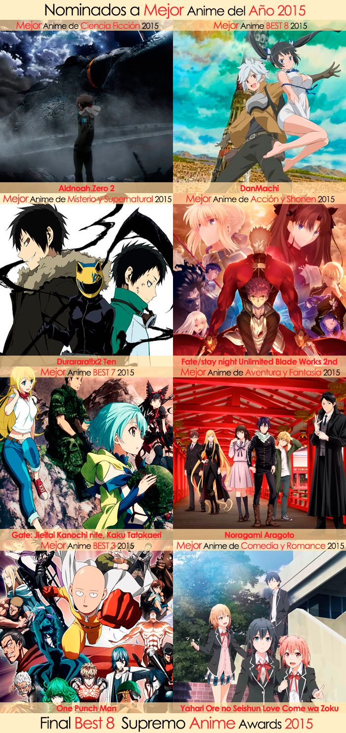 Final Best 8 Supremo Anime Awards 2015