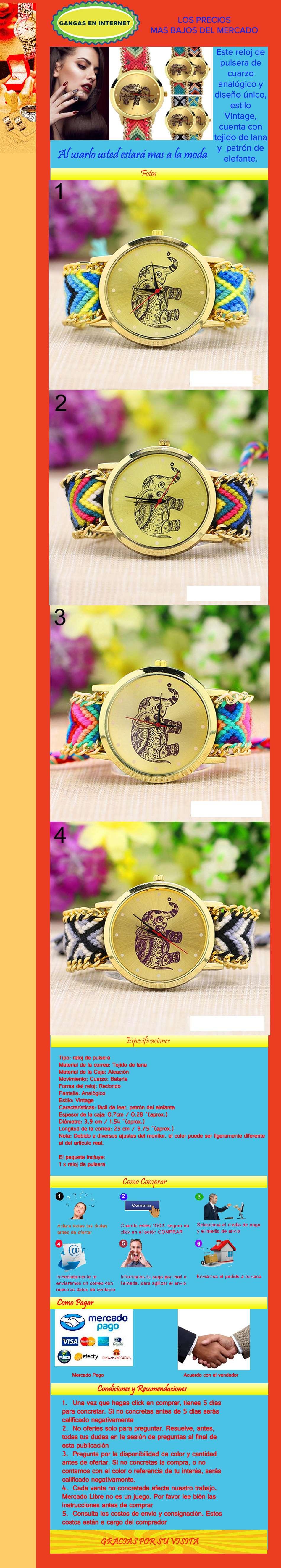 Reloj Pulsera Lana