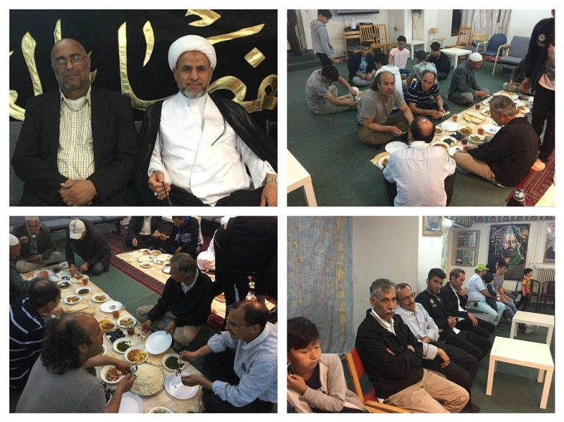 زائران من افغانستان بعد زيارتهما العتبات المقدسة في كربلاء والنجف يعودا الى السويد