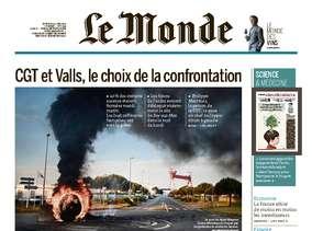 Le Monde du Mercredi 25 Mai 2016