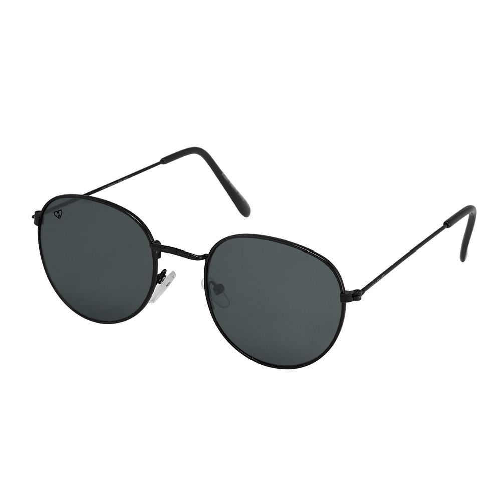 Walrus Royal Black Color Unisex Oval Sunglass - WS-RYL-020202