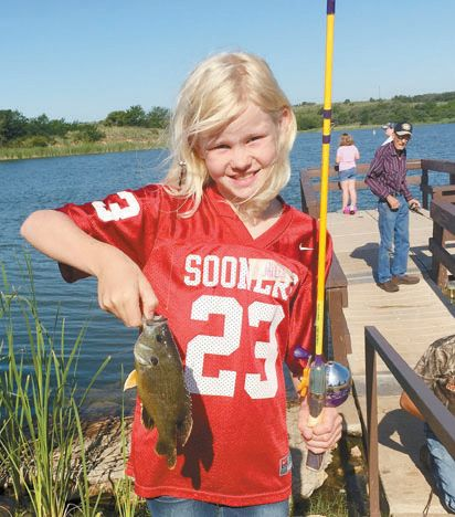 Black Kettle National Grassland to Host 28th Annual Youth Fishing Derby