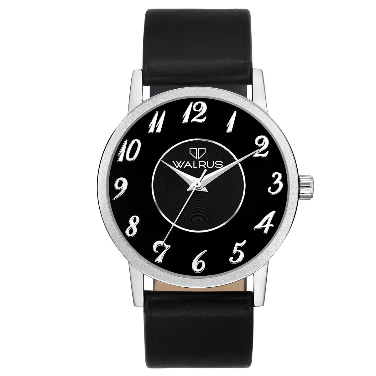 Walrus Lucas Black Color Analog Men Watch -WWM-LCS-020207