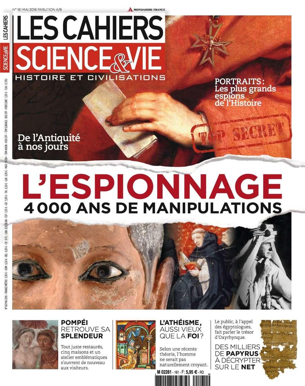 Les Cahiers de Science & Vie 161 - Mai 2016