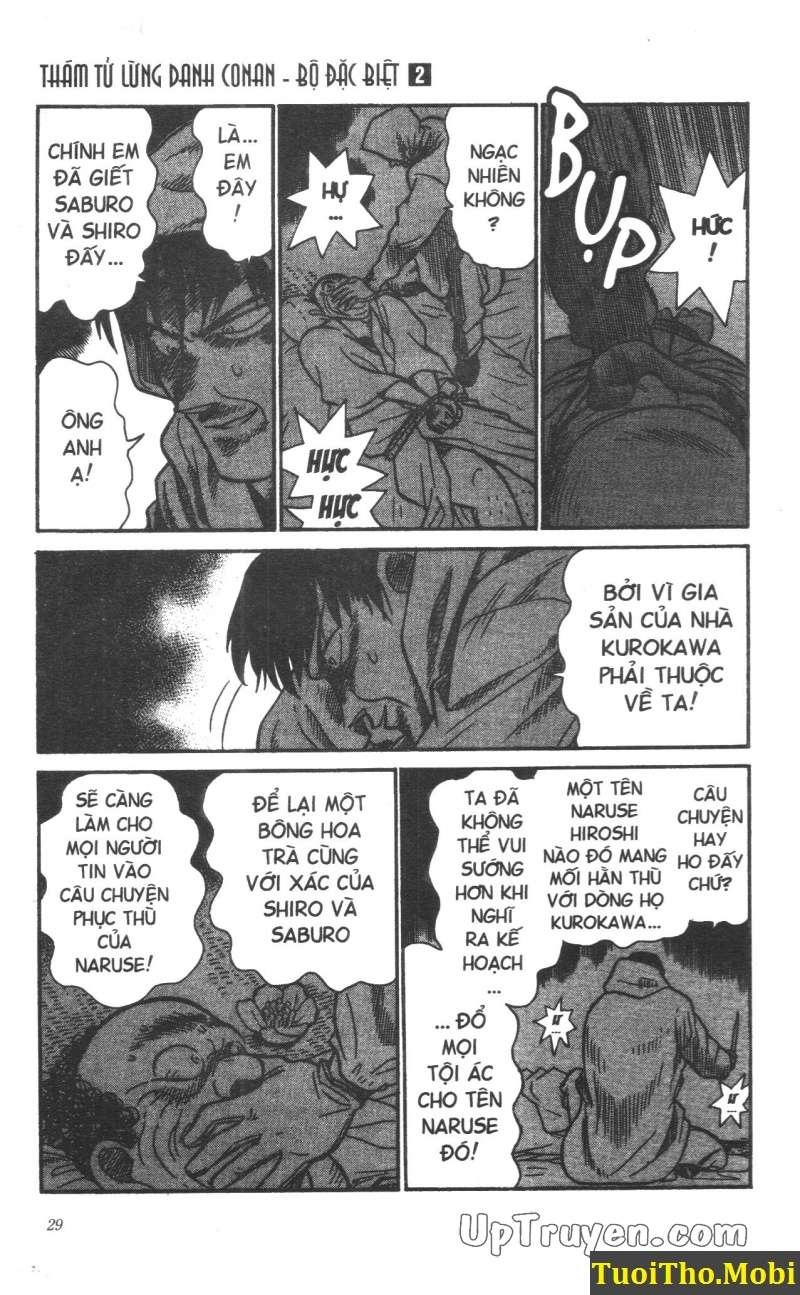 đọc truyện Conan bộ đặc biệt chap 10 trang 24