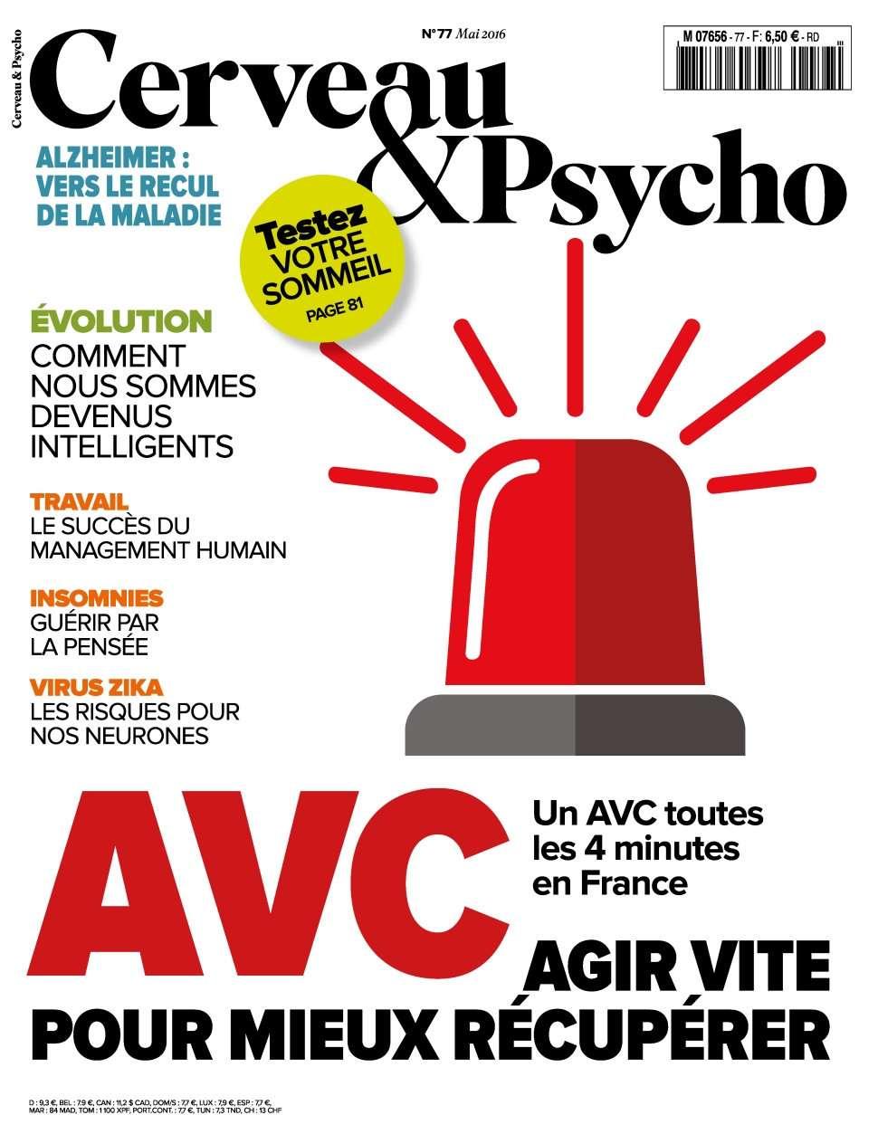 Cerveau & Psycho 77 - Mai 2016