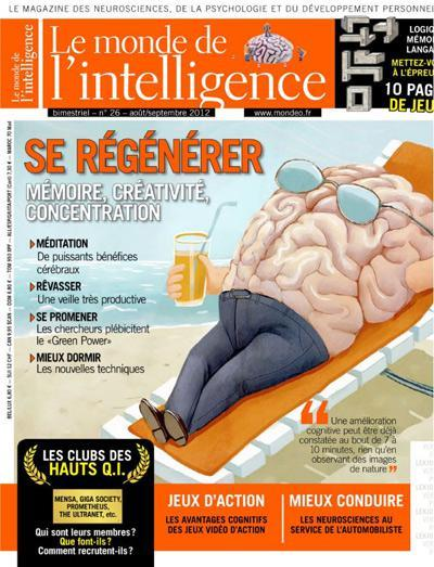 Le Monde de l'Intelligence 26 - Se Régénérer