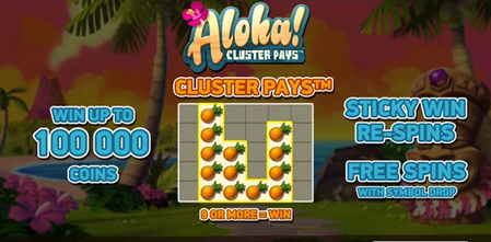 Aloha Cluster Pays premiere
