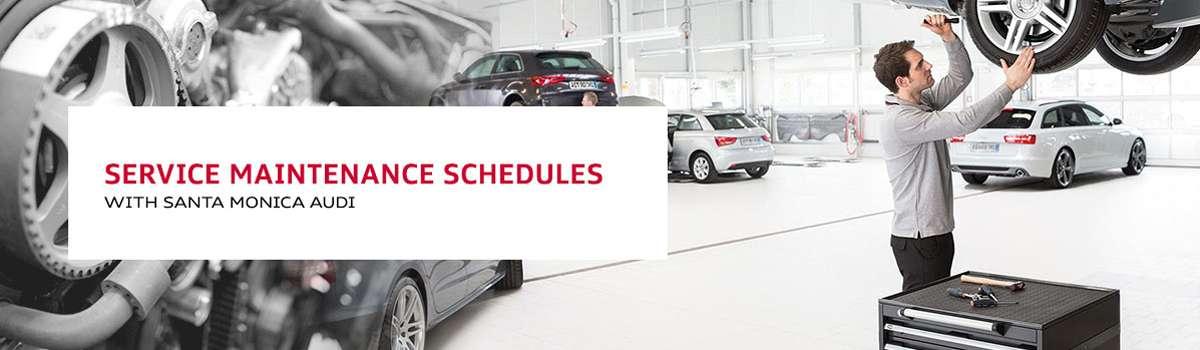 Audi Service Maintenance Schedules