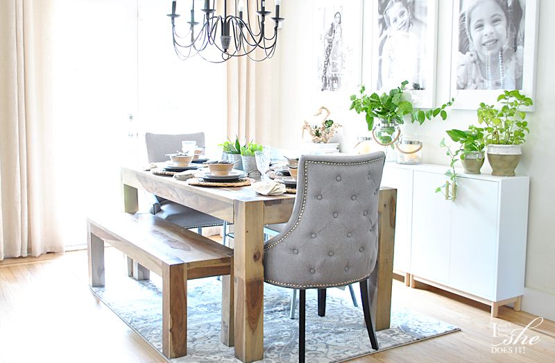Refreshed dining room ideas