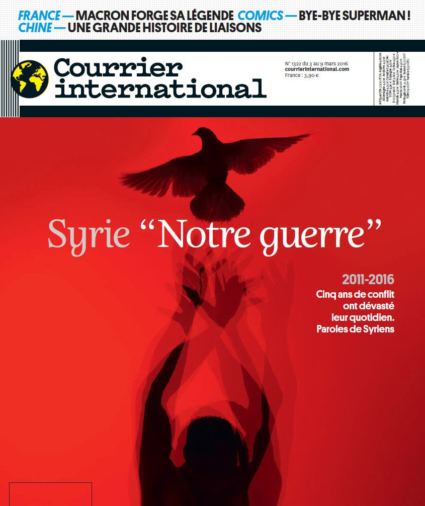 COURRIER INTERNATIONAL 1322 du 3 au 9 Mars 2016