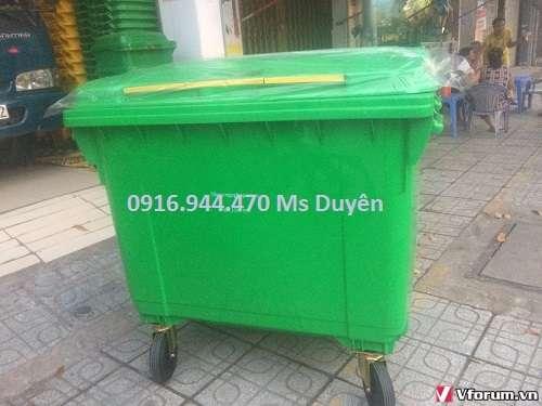 www.kenhraovat.com: Thùng rác 660l, thùng rác y tế, thùng rác bệnh viện