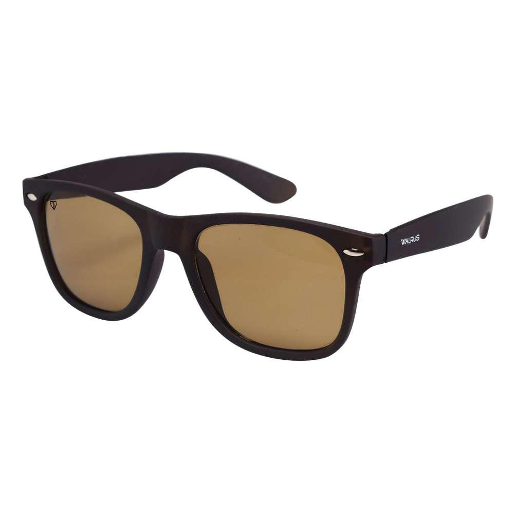 Walrus Urbane Brown Color Unisex Wayfarer Sunglass - WS-URB-090909
