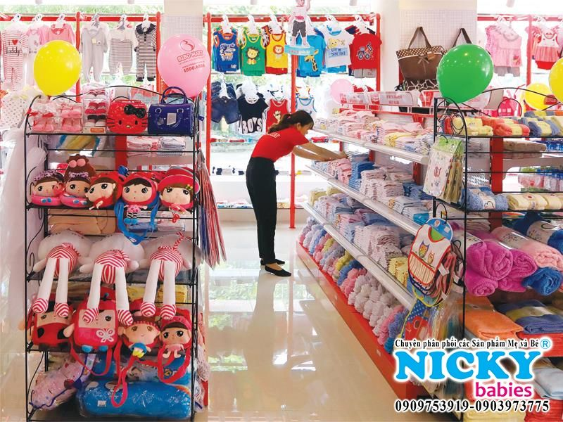 NICKY babies chuyên phân phối các Sản phẩm Mẹ và Bé
