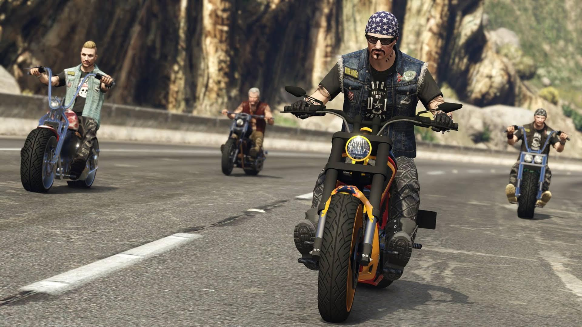 Крупное обновление для GTA V онлайн прибавит вигру десятки байкерских банд