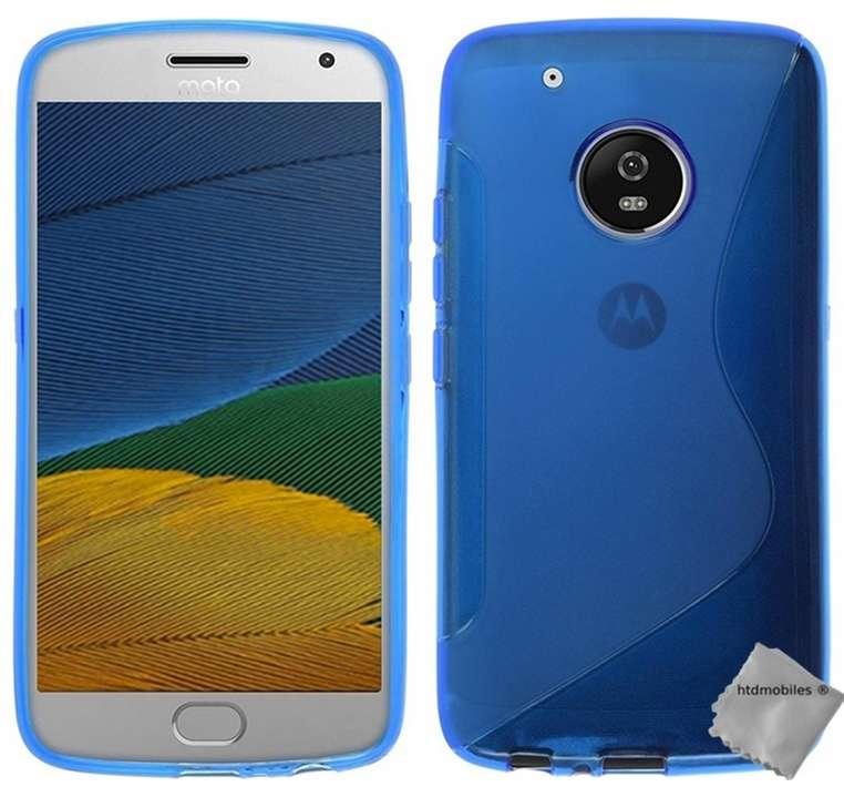 Housse-etui-coque-silicone-gel-fine-pour-Motorola-Moto-G5-Plus-film-ecran