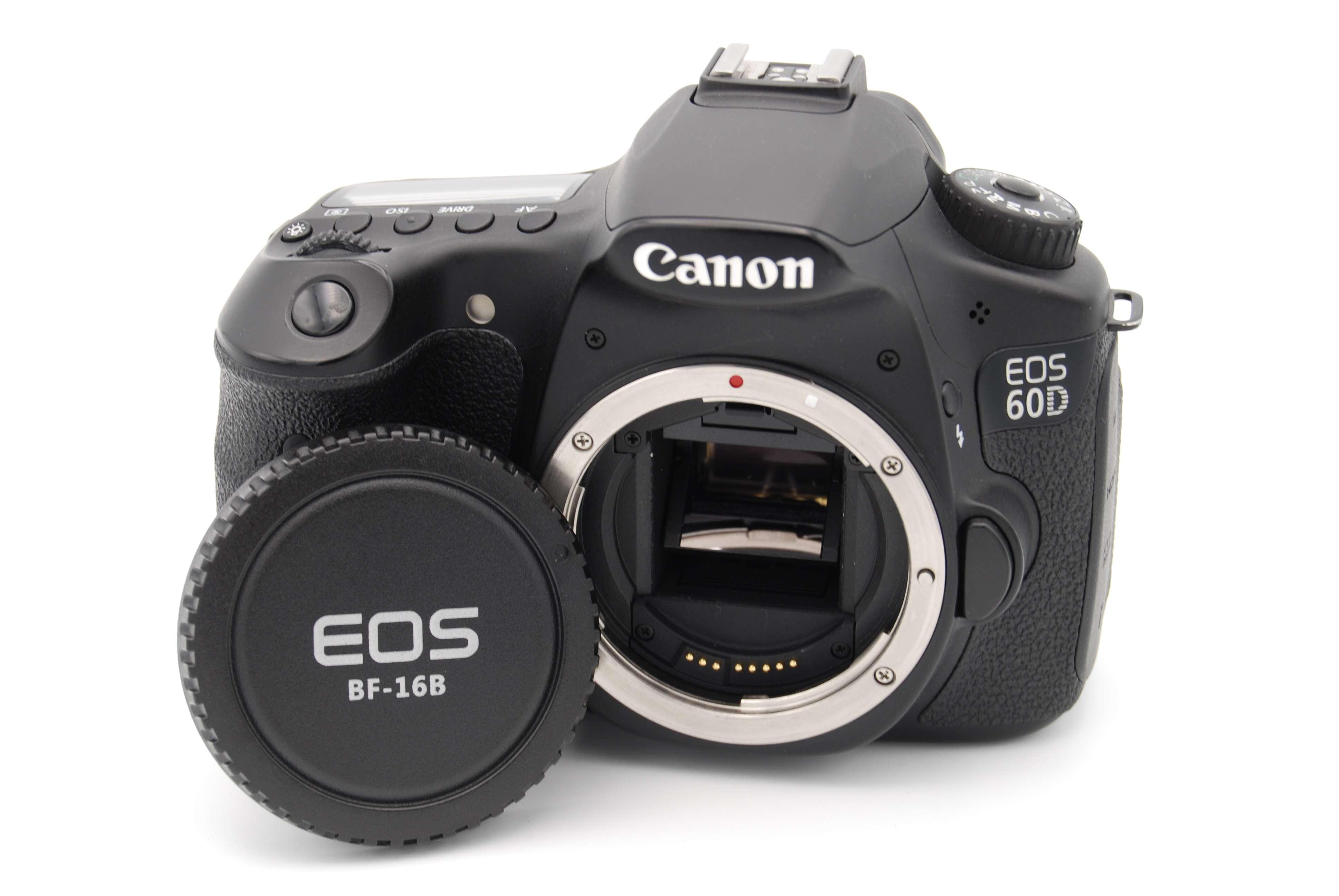canon eos 60d 18 0 mp digital slr camera black body only 13803129175 ebay. Black Bedroom Furniture Sets. Home Design Ideas