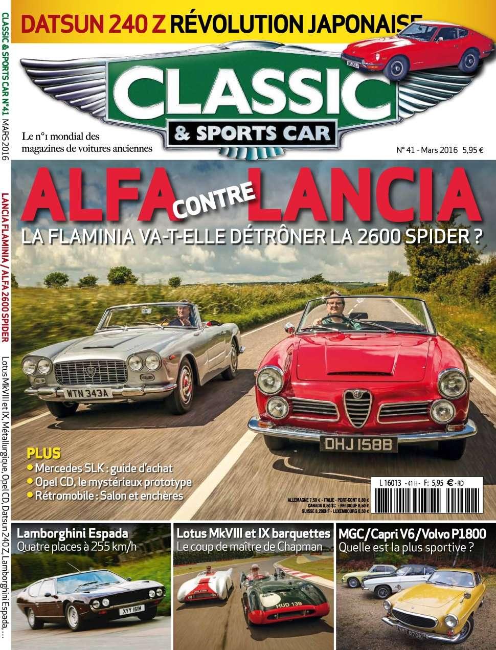 Classic & Sports Car 41 - Mars 2016
