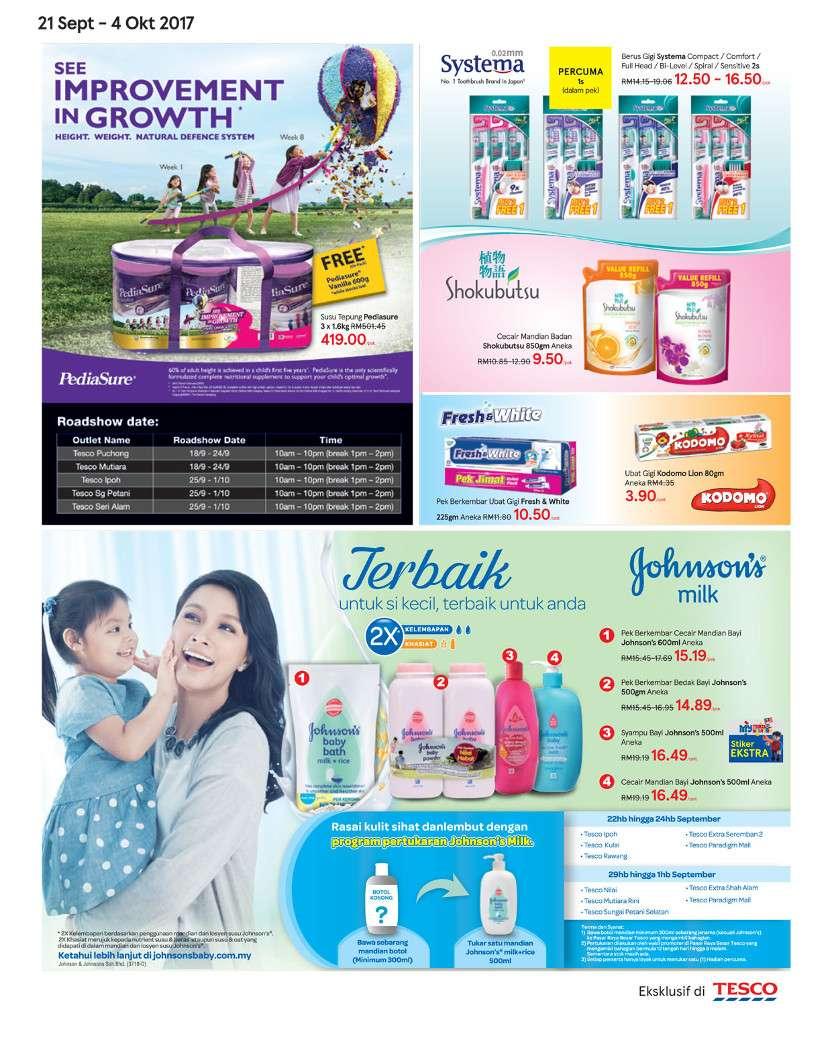 Tesco Malaysia Weekly Catalogue (21 Sep 2017 - 27 Sep 2017)