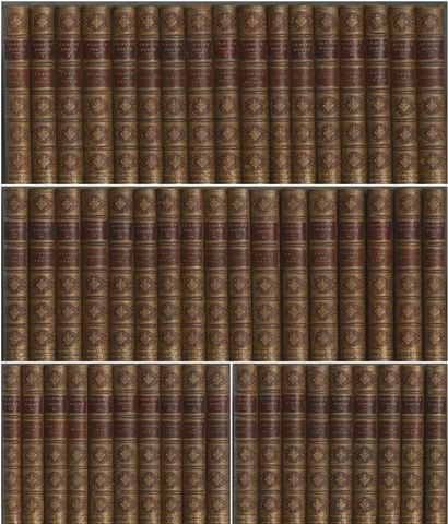 The Aldine Edition of the British Poets: Complete 53 Volume Set (Zaehnsdorf Binding)
